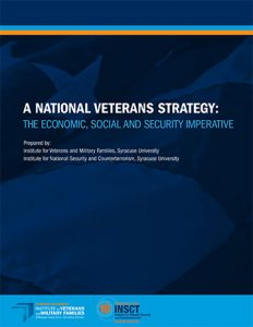 cover of A National Veterans Strategy report
