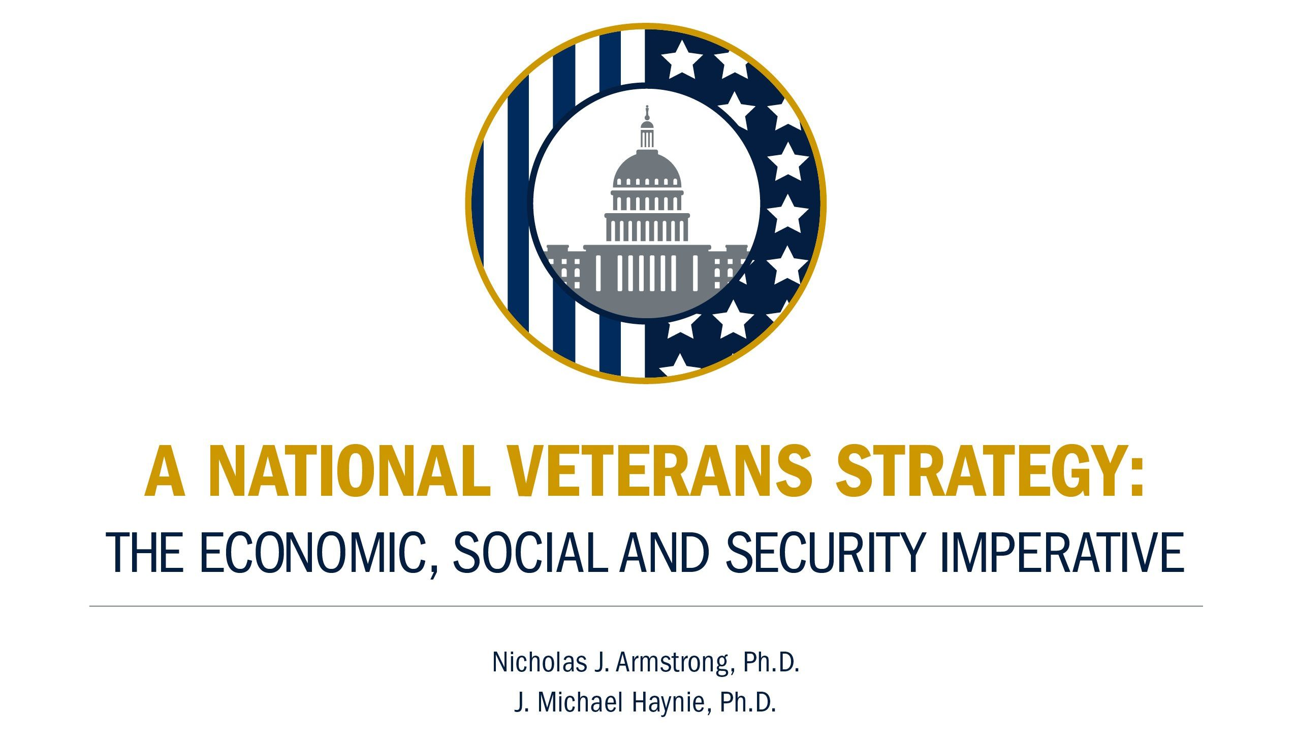 A National Veterans Strategy logo