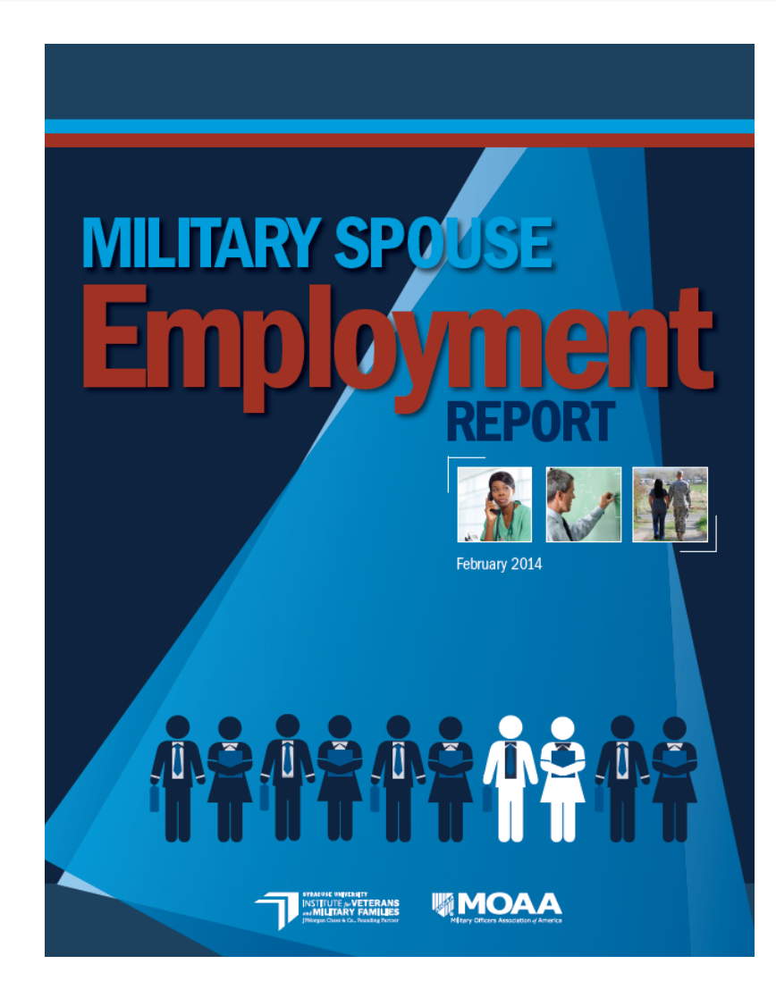 Military Spouse Employment Report Cover