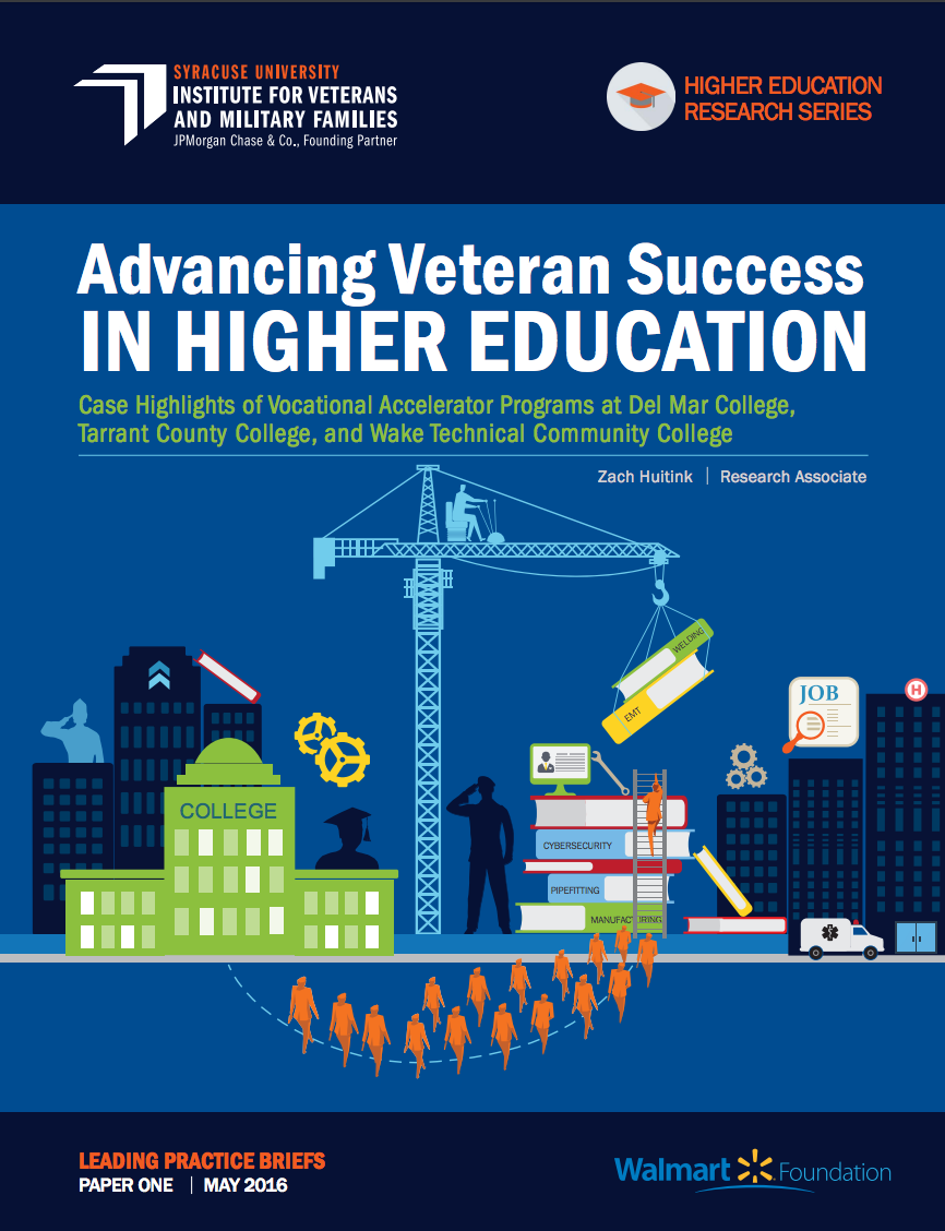 Advancing Veteran Success in Higher Education: Case Studies of Vocational Accele Cover