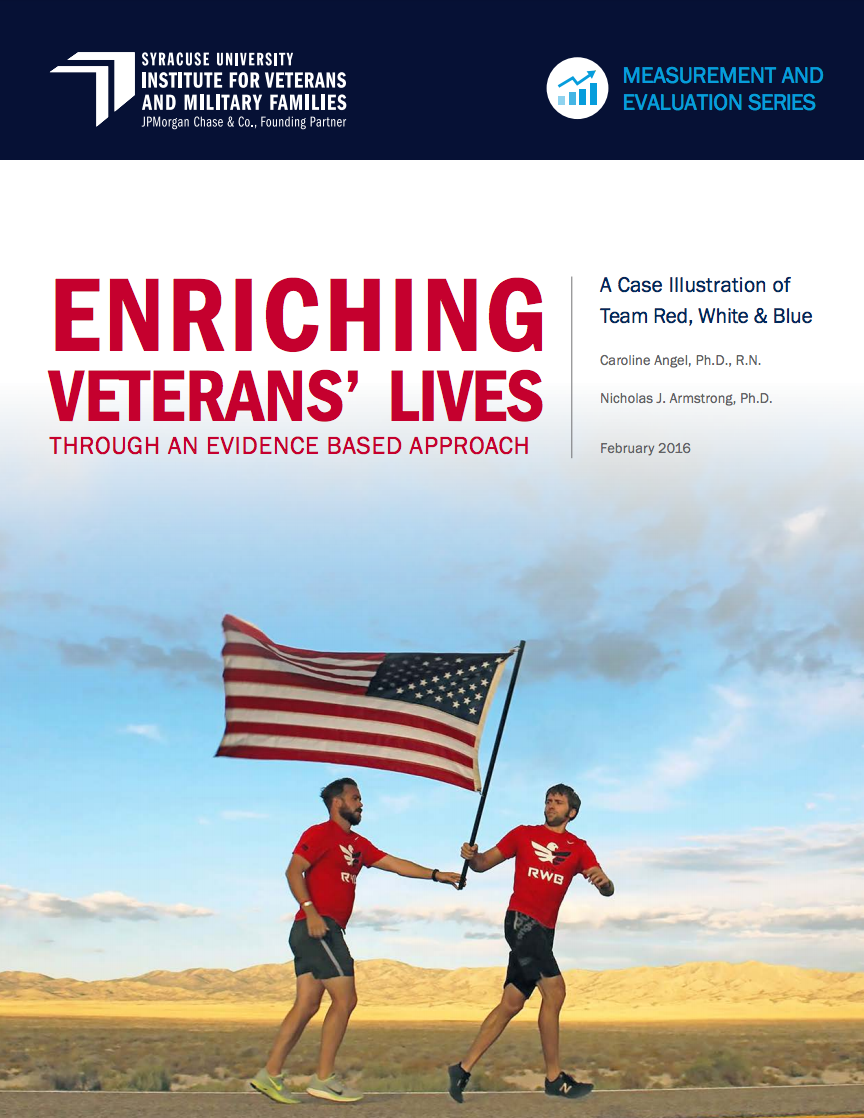 Enriching Veterans' Lives Through An Evidence-Based Approach: A Case Illus Cover