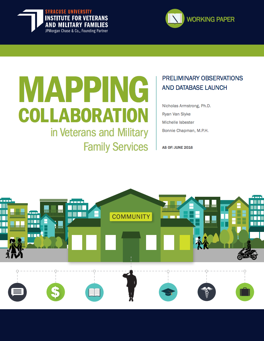 Mapping Collaboration in Veterans and Military Families Services Cover