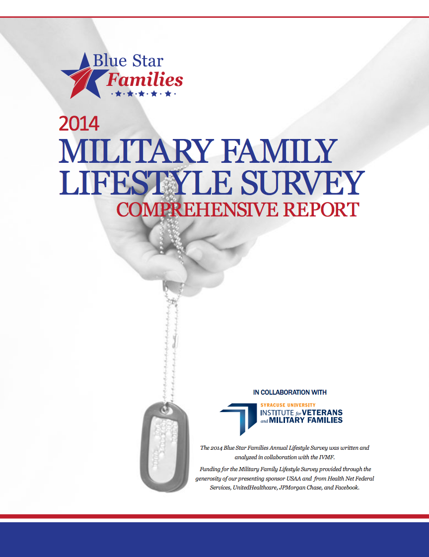2014 Military Family Lifestyle Survey Cover