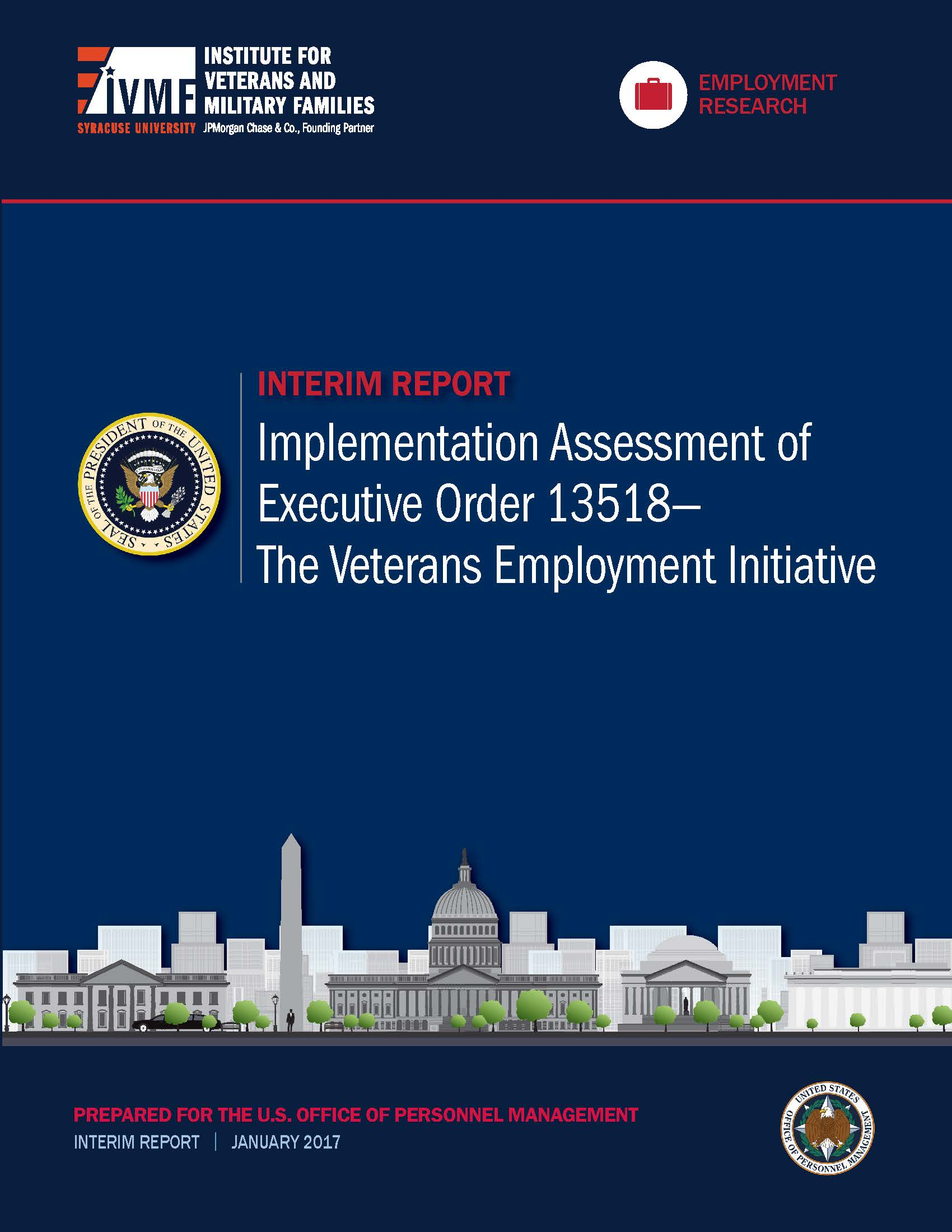 Implementation Review of Presidential Executive Order 13518—The Veterans Emplo Cover
