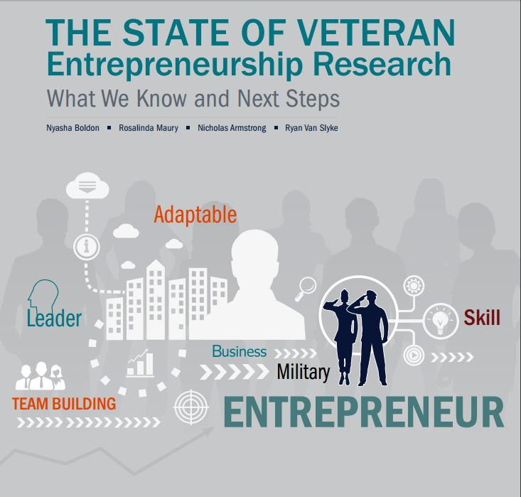 The State of Veteran Entrepreneurship Research: What We Know and Next Steps Cover