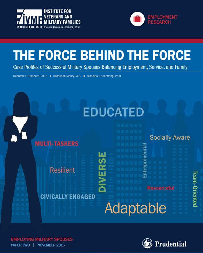 The Force Behind the Force: Case Profiles of Successful Military Spouses Balanci Cover