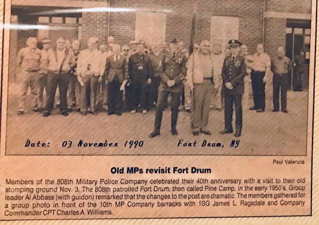 Old MPs revisit Fort Drum