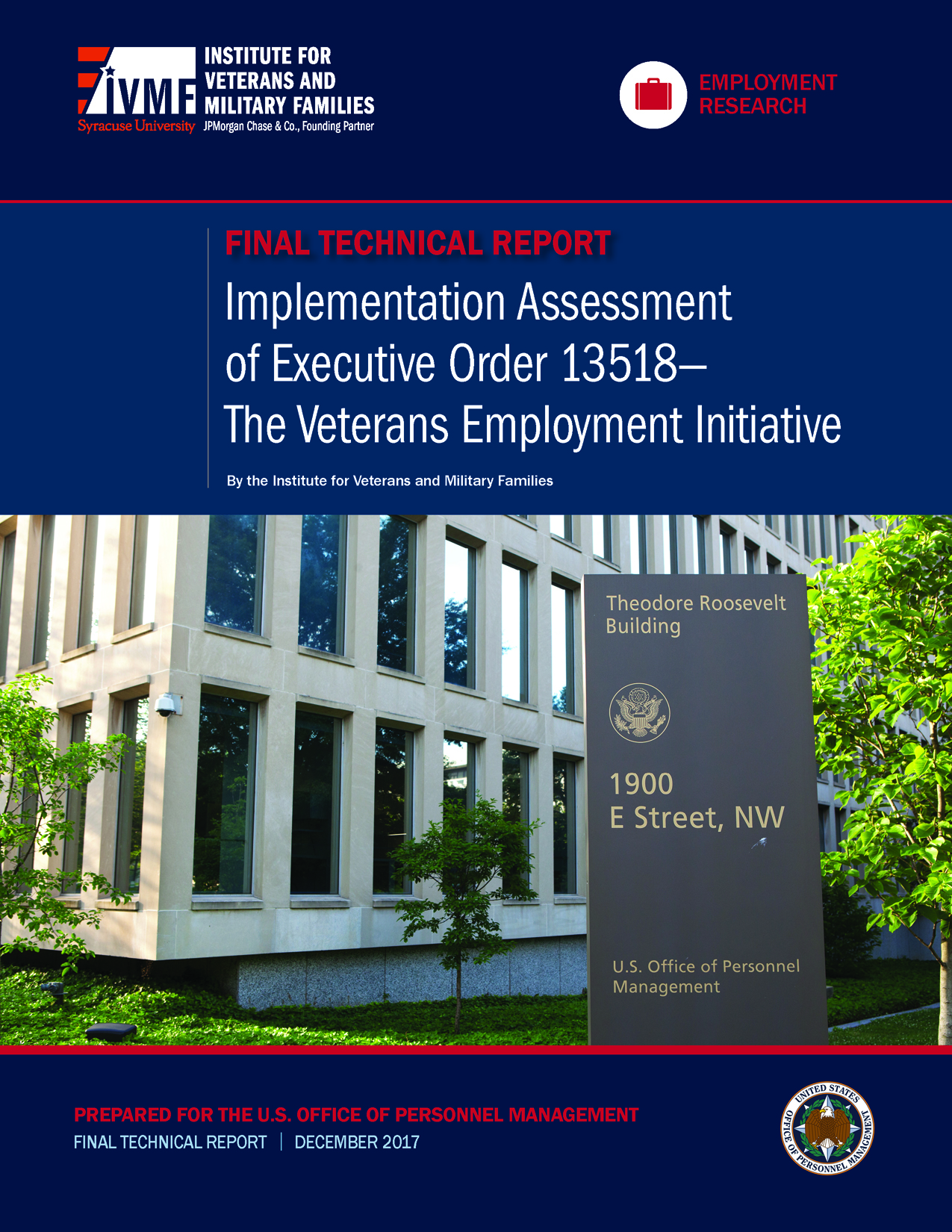 Implementation Assessment of U.S. Office of Personnel Management's Veteran Cover