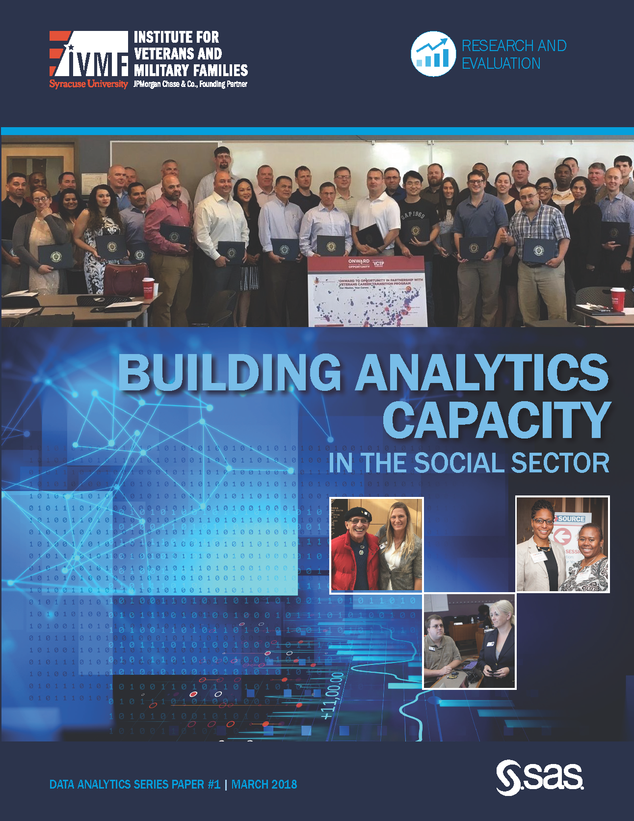 Cover for Building Analytics Capacity in the social sector