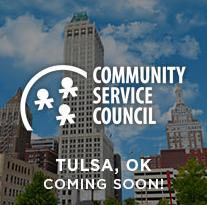 Community Service Council Tulsa, OK location (Coming soon)