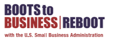 boots to business reboot logo