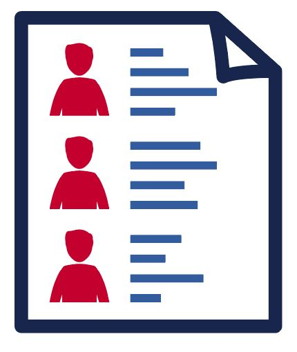 Icon of a ballot