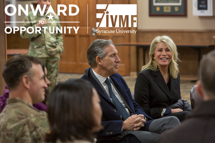 Sheri Schultz Howard Schultz Seattle December 7 2018 JBLM Family Forum