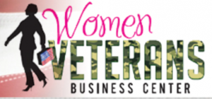 Women veterans business center logo.