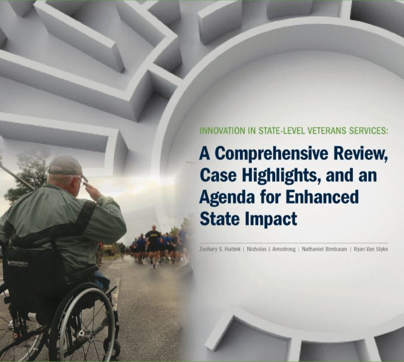 Innovation in State-Level Veterans Services:  A Comprehensive Review, Case Highl Cover
