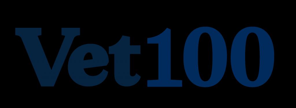 Vet100 logo