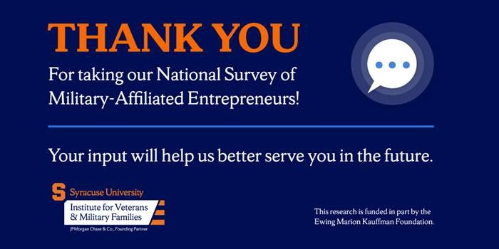Image saying Thank You for participating in a survey