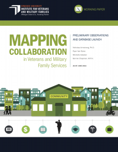 Cover for Mapping community collaboration