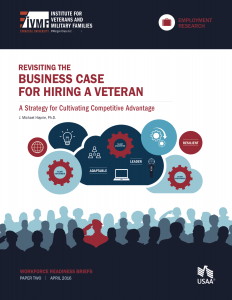 Cover of Revisiting the business case for hiring a veteran