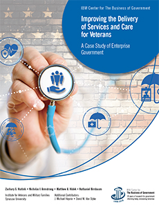 Cover of Improving Care and Service Delivery for Veterans report